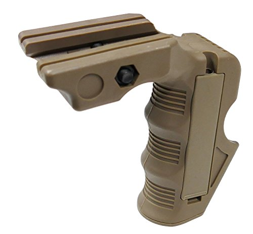 FMA Airsoft CA Style Front Support Grip Fits 20mm Rails Compact M Series
