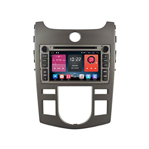 autosion in Dash Android 6.0Auto DVD GPS Player Radio Head Unit GPS Navigation Stereo für Kia Forte Cerato Shuma KOUP 2008200920102011unterstützt Bluetooth SD USB Radio OBD WIFI DVR 1080P (Forte 2011 Koup Kia)