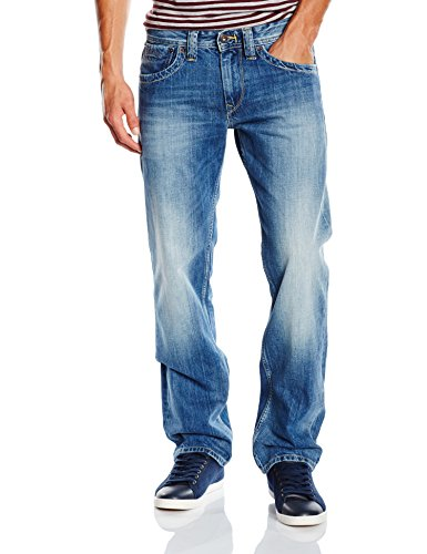 Pepe Jeans London Herren Jeans Kingston Zip Blau (Denim N56)