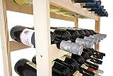 Weinregal Weinregal Holz Flaschenregal für 30 Flaschen R – 30 - 5
