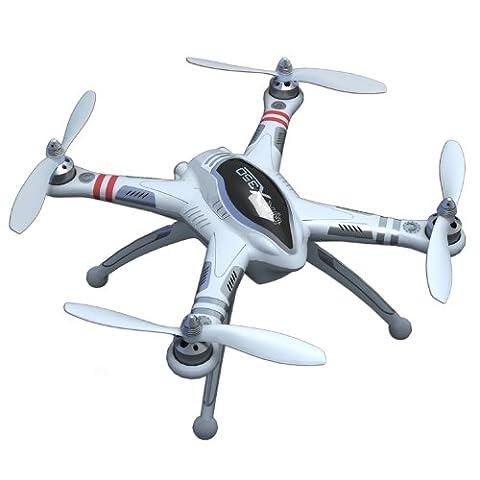 RCECHO® Walkera QR White Series X350 GPS R/C Hobby Quadcopter (boîtier nu) QC250 avec RCECHO® Version Complète Apps Édition