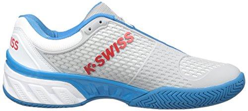 swiss Bigshot Uomo Da K Bianco Scarpe Le Bianco Per Blu Tennis wI7P7BxZ