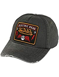 d168c55077590 Von Dutch Men Caps Snapback Cap Velcro Black Adjustable