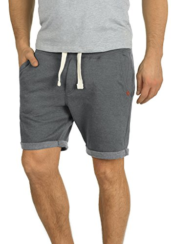 BLEND Timo 20701416ME Sweatshorts, Größe:S;Farbe:Pewter Mix (70817) (Shorts Sweat Fleece)