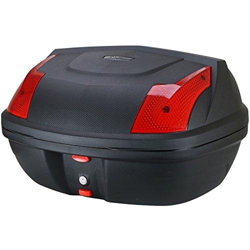 Ryde Motorradkoffer Topcase für Helme - Carbon-Optik - 48 Liter