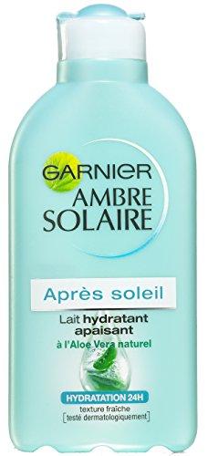 Garnier Ambre Solaire Après Soleil Lait Hydratant Apaisant à l'Aloe Vera 200 ml