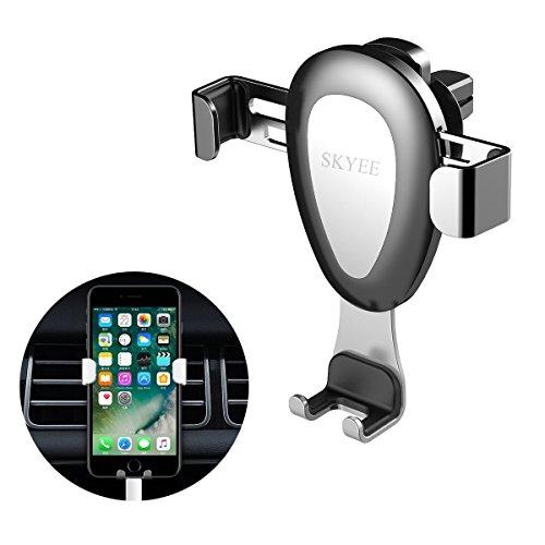 Soporte Movil Coche Rejilla de ventilación [Automático Gravedad], SKYEE Universal Soporte Teléfono...