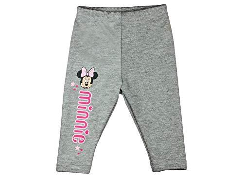 (Minnie Mouse Mädchen-Baby-Thermo-Leggings dick WARM und kuschelig, in Grau in Grösse 74 80 86 92 98 104 110 116 122 Baumwolle für Herbst und Winter Thermo-Hose von Disney lang Größe 98)