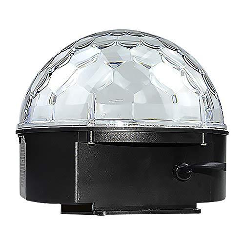 Light Disco-Lichter, RGBW-Party-Lichter Sound-Aktivierte LED-Rotationskristall-DJ-Lichter Mit Fernbedienung Für Party-Karaoke-Geburtstag Und Bar