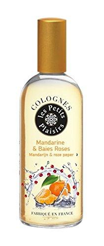 Les Petits Plaisirs Eau de Cologne Vaporisateur Mandarine/Baies Roses 100 ml