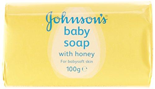 Johnsons Baby-Seife mit Honig 4x100g Packung -
