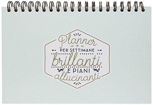 Mr. Wonderful Planner Settimanale, Planner Settimanale Per Settimane Brillanti e Progetti Straordinari