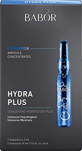 BABOR AMPOULE CONCENTRATES Hydra Plus, Ampullen mit Hyaluronsäure, feuchtigkeitsspendendes Serum, 1er Pack (7 x 2 ml)