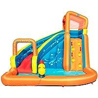 188X27.55 Williamly Gartenrasenrutsche Sommer Mehr Wasserspa/ß F/ür Kinder Und Erwachsene Speed Giant Waterslide