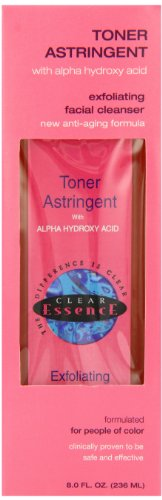 Toner Astringent with Alpha Hydroxy Acid