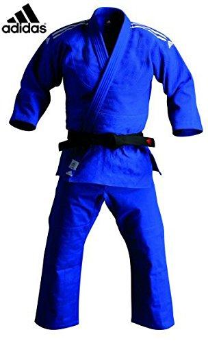 adidas j500b blau Judo-Anzug, 3/160cm