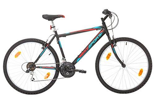 Bikesport Herren Fahrrad Mountainbike Hardtail ACTIVE 26 Zoll - LIEFERUNG VOR WEIHNACHTEN, 4-6 Werktage
