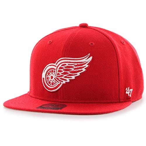 Preisvergleich Produktbild 47 Brand Snapback Cap - Captain Detroit Red Wings rot