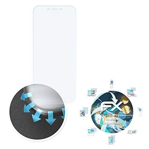 atFolix Schutzfolie passend für Allview X4 Soul Infinity Z Folie, ultraklare & Flexible FX Bildschirmschutzfolie (3X)