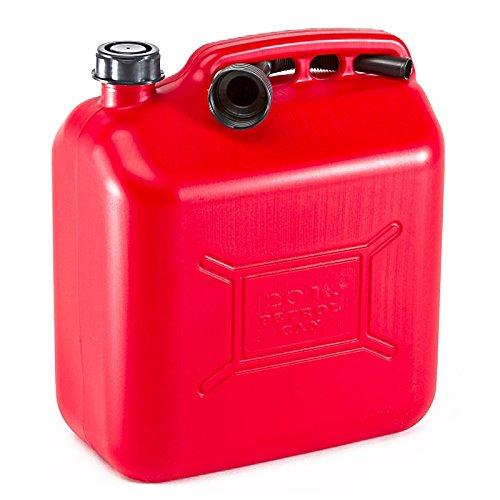 Tanica Bidone Benzina 20 Litri per Trasporto Carburante Gasolio Olio Omologata