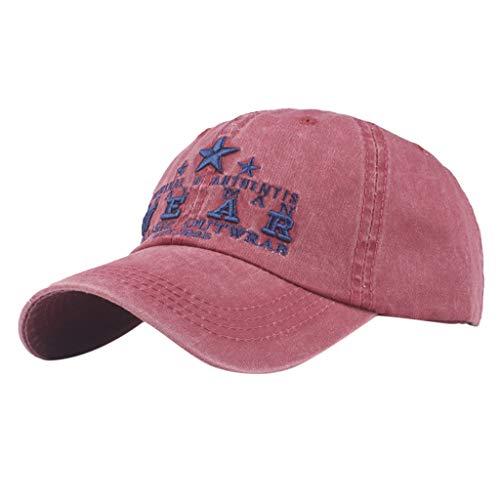 Poachers Hut,Frauen Bestickte Blume Denim Cap Mode Baseball Cap Topee