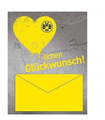 BVB 16501000 Geldscheinkarte (Mütze Neu Logo Hut)