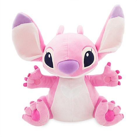 authentic-disney-angel-medium-soft-toy-33cm-from-lilo-stitch-the-series