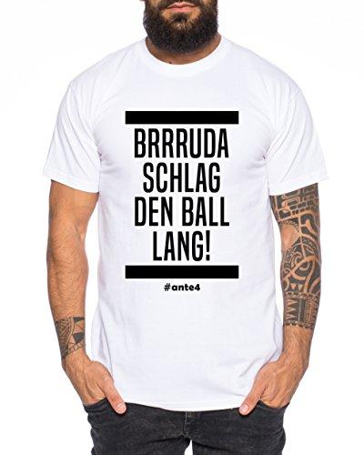 Sambosa Ante Herren T-Shirt Frankfurt Pokalsieger 2018 Prince, Farbe:Weiß;Größe:M