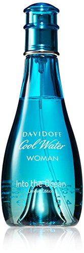 Zino Davidoff Cool Water Into Ocean, Eau de Toilette da donna, 100 ml
