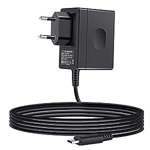 ECHTPower Gamecube Controller Adapter, Wii U Gamecube Controller Adapter, 4 Ports USB NGC Controller Gamepad Konverter für Nintendo Switch/Wii U/PC Super Smas Bros(Kein Treiber Erforderlich)