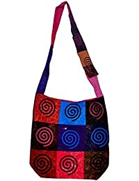 Gaurapakhi Rajasthani Collection And Ethnic Cotton Handmade Handbag With Multicolor For Women's - B07D7HJXZN