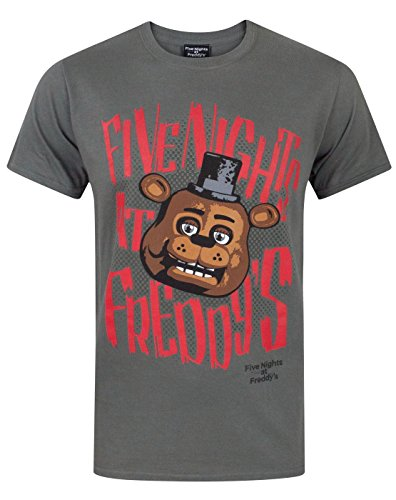 Five Nights At Freddy's Freddy Fazbear Men's T-Shirt (XX-Large)