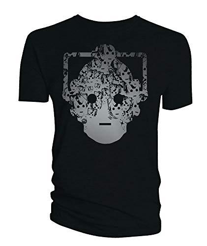 Dr. Who: Cyberman Faces Head [T-Shirt   Größe XL] [Zubehör] Preisvergleich