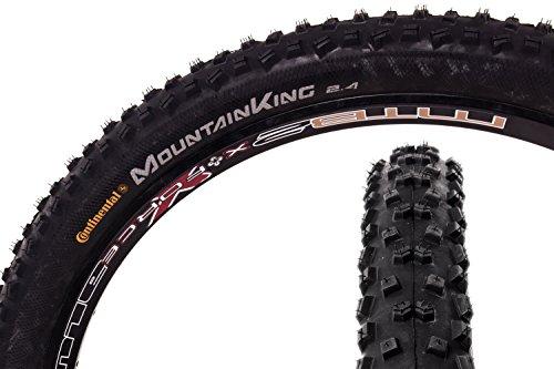 "27,5\"" Zoll Continental Mountain King II Fahrrad Reifen Mantel Decke Tire 60-584 schwarz"