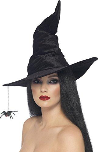 hut mit Spinne, Einheitsgröße (Hexe Kostüm Hut)