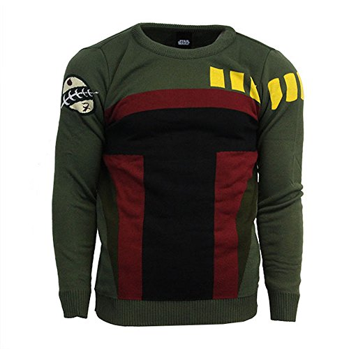 STAR WARS Boba Fett Official Jumper/Sweater (Small)