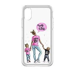 Idea Regalo - Festa della Mamma 2 Cover Smartphone Custodia per Tutti Modelli Apple iPhone Samsung Huawei 6 Idea Regalo super migliore mamma al mondo speciale queen king mother day regalo divertente