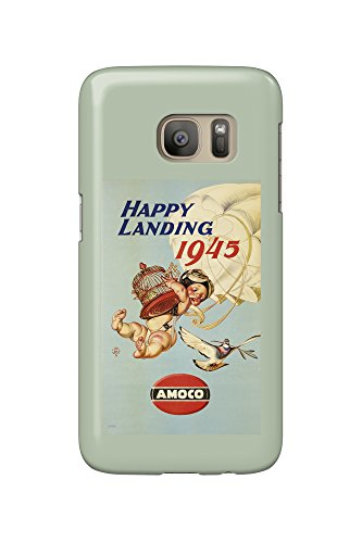 amoco-happy-landing-vintage-poster-artist-leyendecker-joseph-c-c-1944-galaxy-s7-cell-phone-case-slim