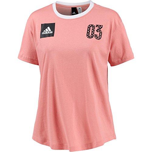 adidas Performance Damen T-Shirt Rosa