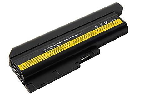 Mitsuru® 7200mAh batterie ordinateur portable Laptop pour IBM Lenovo Thinkpad R60 R60e R61 R61e R61i R500 T60 T60p SL300 SL400 SL500 T500 W500 remplace 40Y6799 42T4504 42T4513 42T4544 42T4560 42T4561 42T4566 42T4572 42T5233 42T5246 43R9252 92P1137 92P1138 92P1139 92P1140 92P1141 92P1142 ASM 42T4545 ASM 92P1138 ASM 92P1140 ASM 92P1142 FRU 42T4504 FRU 42T4513 FRU 42T4651 FRU 42T5233 FRU 92P1137 FRU 92P1139 FRU 92P1141