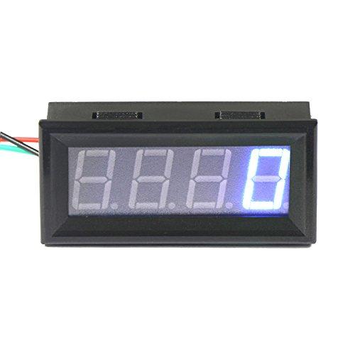 DROK® Digitaler Tachometer Tacho Geschwindigkeitsmesser Blau LED-Anzeige 60-9999 r