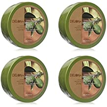 DELON Intense Moisturizing Olive Body Butter 6.9 Oz (4-Pack)
