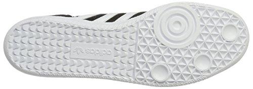 adidas Herren Leonero Skateboardschuhe Mehrfarbig (Cblack/ftwwht/blubir)