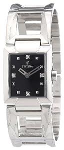 Reloj Festina F16554/4 de cuarzo para mujer con correa de acero inoxidable, color plateado de FESTINA