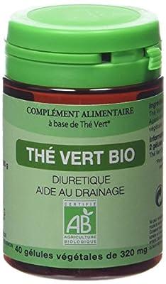 Graine Sauvage Thé Vert Bio Pilulier de 40 Gélules