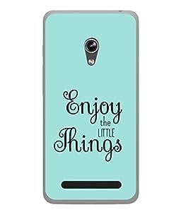 PrintVisa Designer Back Case Cover for Asus Zenfone 5 A501CG (Happy Forever)