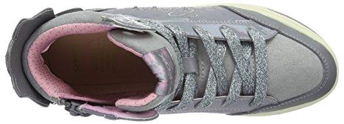 Geox Creamy C, Sneakers Hautes Fille Grau (GREYC1006)