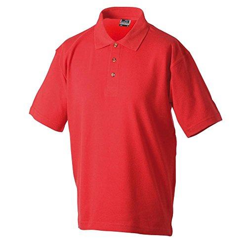 Polo Piqué Medium, Größen S-5XL, viele Farben Red