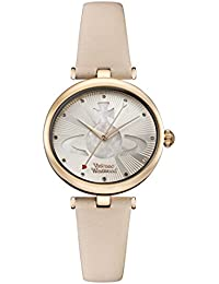 Vivienne Westwood Womens Analogue Classic Quartz Watch with Leather Strap VV184LPKPK