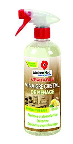 Maison Net Vinaigre de Ménage Arôme Citron 750 ml - Lot de 3